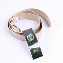 Dámský pásek Verde odstín béžové
