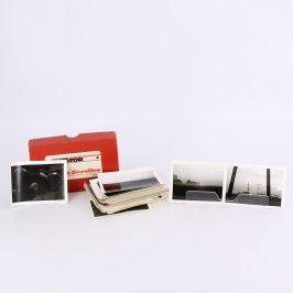 Sbírka černobílých fotografií krajiny