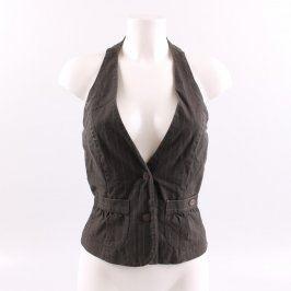 Dámská elegantní vesta C&A černá