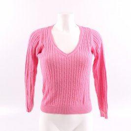 Dámský svetr ZARA odstín růžové