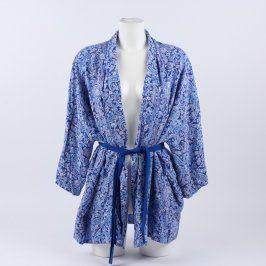 Dámský župan Etam odstín modré