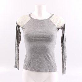 Dámské tričko Terranova odstín šedé