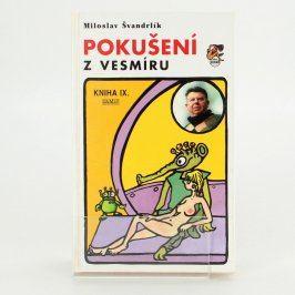 Kniha Pokušení z vesmíru-Miloslav Švandrlík