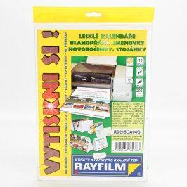 Fotopapíry Rayfilm 21 x 11,3 206 g/m2 lesklé