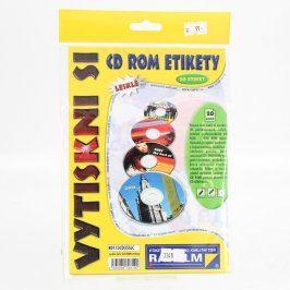 Fotopapíry Rayfilm CD etikety lesklé