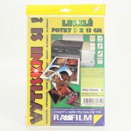 Fotopapíry Rayfilm 9 x 13 206 g/m2 lesklé