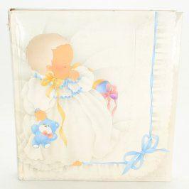 Dětské fotoalbum k narození dítěte