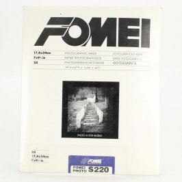 Fotopapíry Fomei 18 x 24 265 g/m2 polomatné