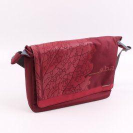 Brašna na notebook Aha 45x30x10 cm červená