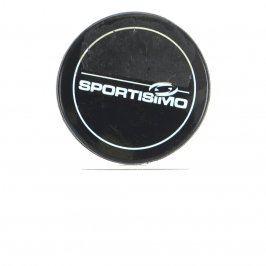 Hokejový puk Sportisimo černé barvy