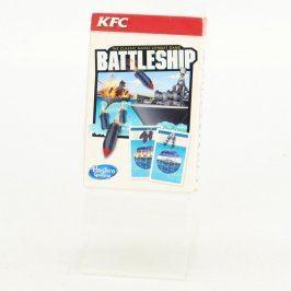 Karetní hra KFC Battleship Hasbro