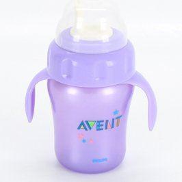 Kojenecká lahev Avent Philips fialové barvy