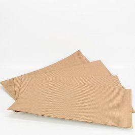 10x Kartónové obdelníky 40 x 25 cm