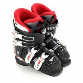 Lyžařské dětské boty Nordica černo červené
