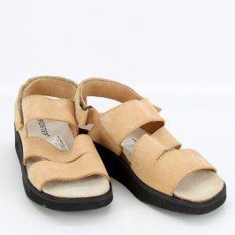 Dámské sandály Biostep odstín béžové