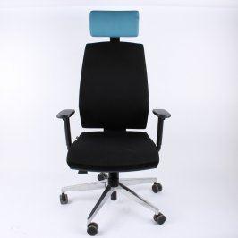 Kancelářská židle Ld Seating černo modrá