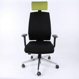 Kancelářská židle Ld Seating černo zelená