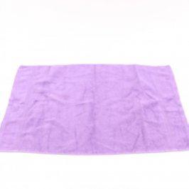 Ručník balvněný odstín fialové
