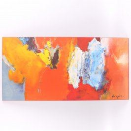 Obraz Barvy na dřevěné desce