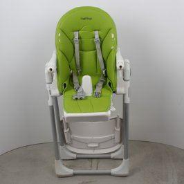 Dětská židlička Peg-Pérego zelená