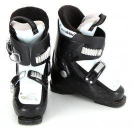 Dětské lyžařské boty černobílé