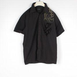 Pánská košile Burton černá se vzorem