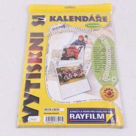 Fotopapír Rayfilm Vytiskni si kalendář matné