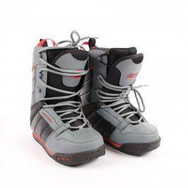 Boty na snowboard Westige šedo černé