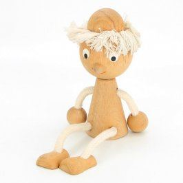 Dřevěná hračka: Panáček 5 x 20 cm