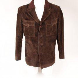 Pánská podzimní bunda hnědá