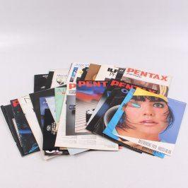 Časopisy o fotografování Pentax