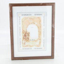 Dřevěný rámeček TB Byrtus odstín hnědé