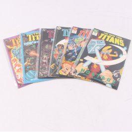 Sbírka komiks The New Titans