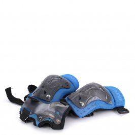 Dětské chrániče kolen a rukou modro černé