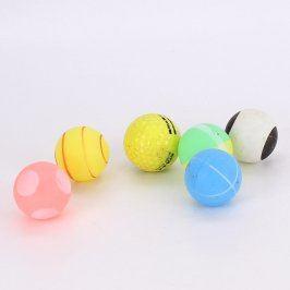 Sada pingpongových míčků s jedním golfovým