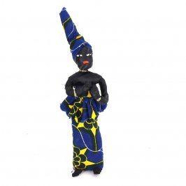 Látková postavička černošky
