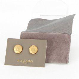 Manžetové knoflíčky Azzaro zlaté barvy