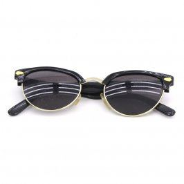 Dámské sluneční brýle s černo zlatou obrubou