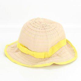 Dámský klobouk TCM se žlutou stuhou