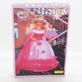 Dětské puzzle Tohis růžová barbie Susy