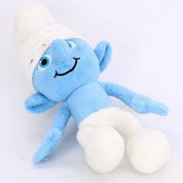 Plyšová hračka modrý šmoula