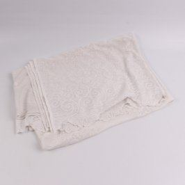 Záclona krajková bílá 130 x 162 cm