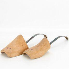 Napínák obuvi dřevo bez špice, ocelová páska