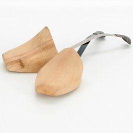 Napínák obuvi dřevo s ocelovým páskem