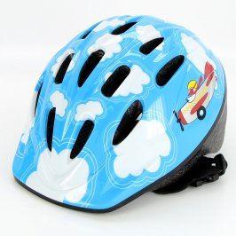Dětská cyklistická helma Kellys modrá