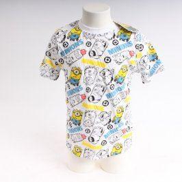 Dětské tričko Despicable Me bílé s potiskem