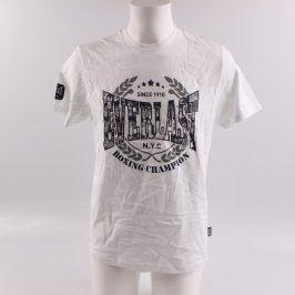 Pánské tričko Everlast odstín bílé