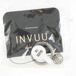 Dámský prsten INVUU R-0839 s krystalky