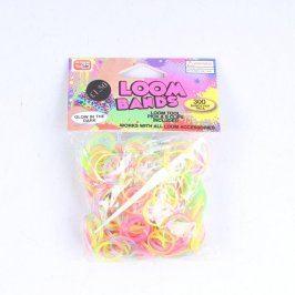 Gumičky Loom Bands zářivých barev