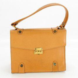 Dámská kabelka hnědo žlutá